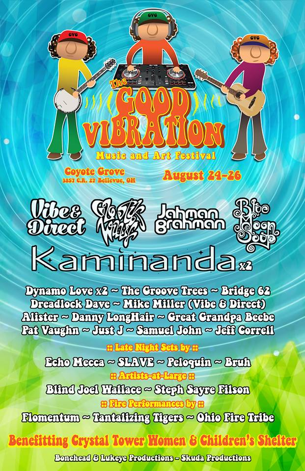 Festival Preview: Good Vibes Only at Good Vibration Music and Art Festival this weekend Aug 24-26, 2018