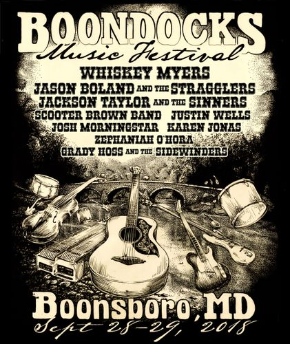 Boondocks Serves Up Southern Rock Sep 28 & 29 in Boonsboro, MD