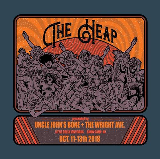 What's Up Weekly – Oct. 08-14 2018 – The Heap, Beauty in the Backyard, Mustang Rock & Roast, Ohio Dreamfest