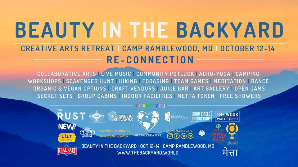 5 Must See Bands at Beauty in the Backyard Oct 12-14 in Darlington, MD