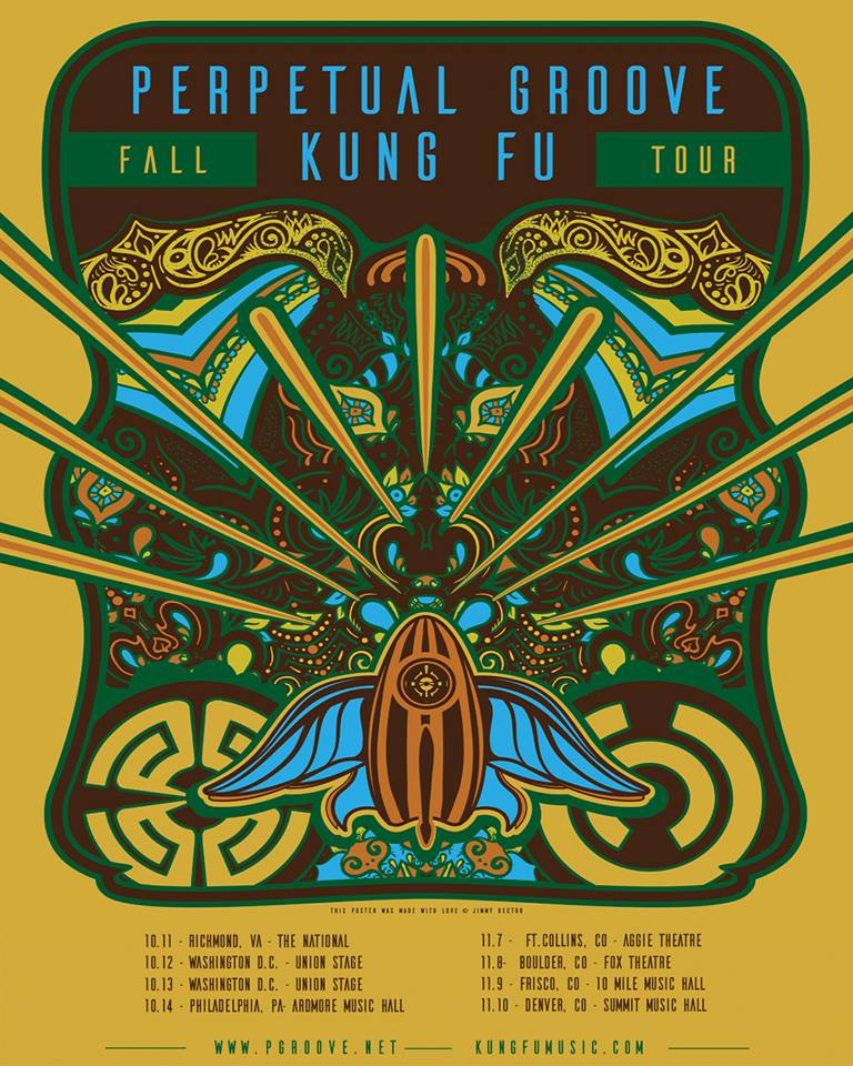 "Kung Fu Kicks Off a Lethal Fall Tour with Perpetual Groove in Richmond Tonight + ""Fez West"" Tour on West Coast"