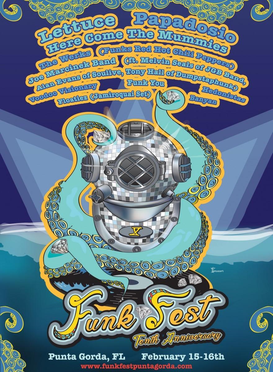 What's Up Weekly – Dec 11-17 – Punta Gorda Funk Fest, Lotus, Galactic, Umphrey's McGee & more!