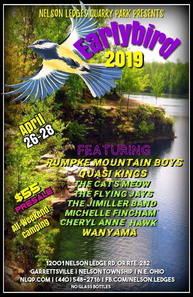 """""""Early Bird"""" Gets The Worm at Nelson Ledges Quarry Park"""