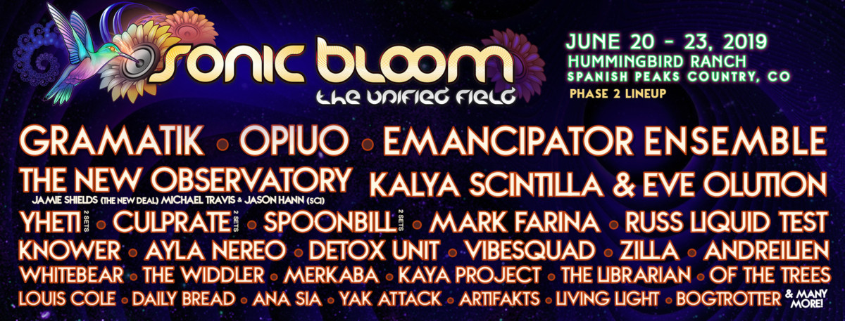 3 Bands to Discover at Sonic Bloom – June 20-23, 2019