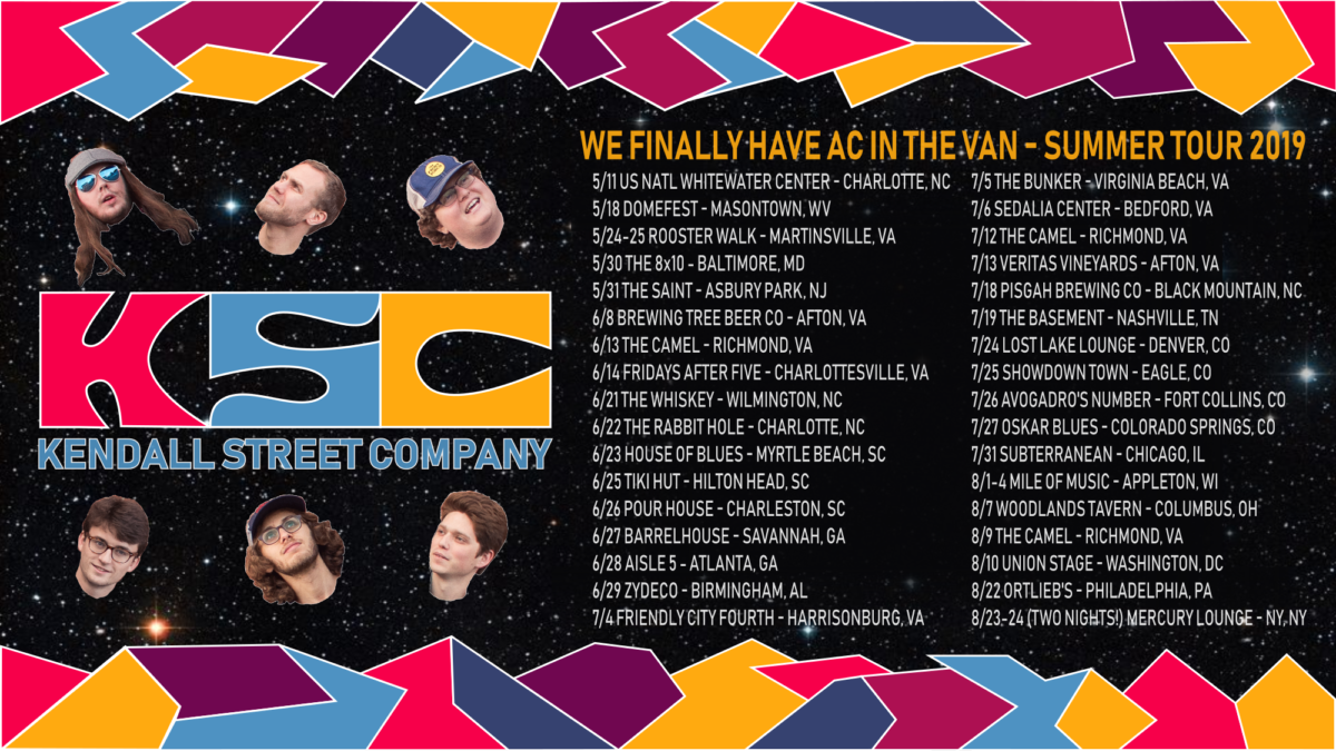 """Beat the Heat with Kendall Street Company's Summer Tour – A Jamwich Inside Scoop on the """"AC"""" Tour"""