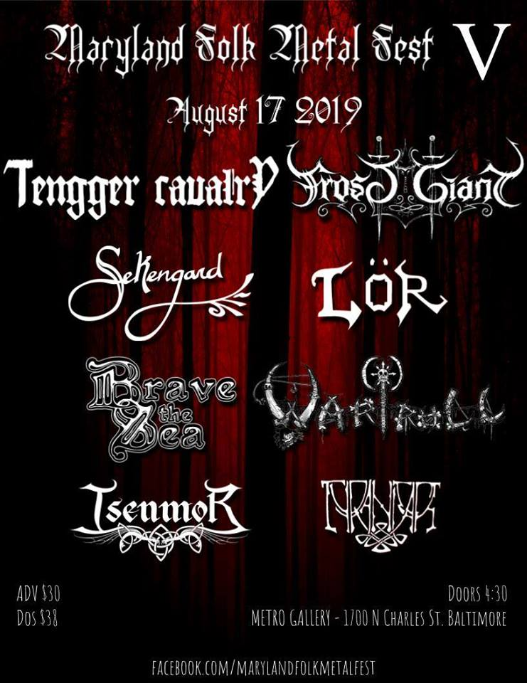 "What is ""Folk Metal"" and the Music of Maryland Folk Metal Fest – Interview with ""The Fiddler"" & Organizer Sarah Stepanik"