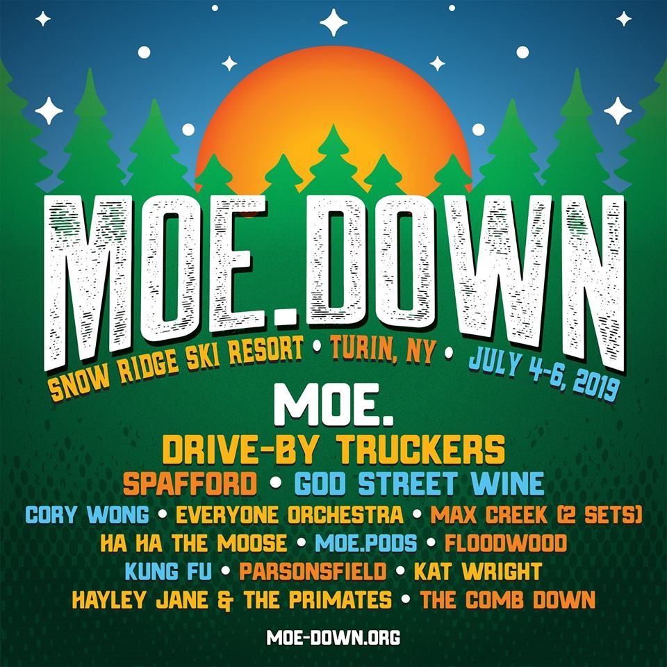 What's Up Weekly – Jul. 01-07 – moe.down, Grateful Fest 2019, Great Blue Heron & more!