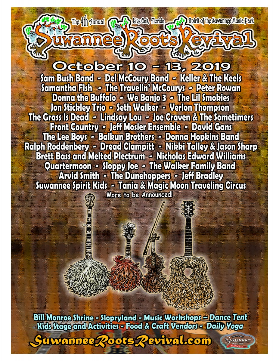 Festival Preview: Suwannee Roots Revival is a Bluegrass Reunion in the Woods