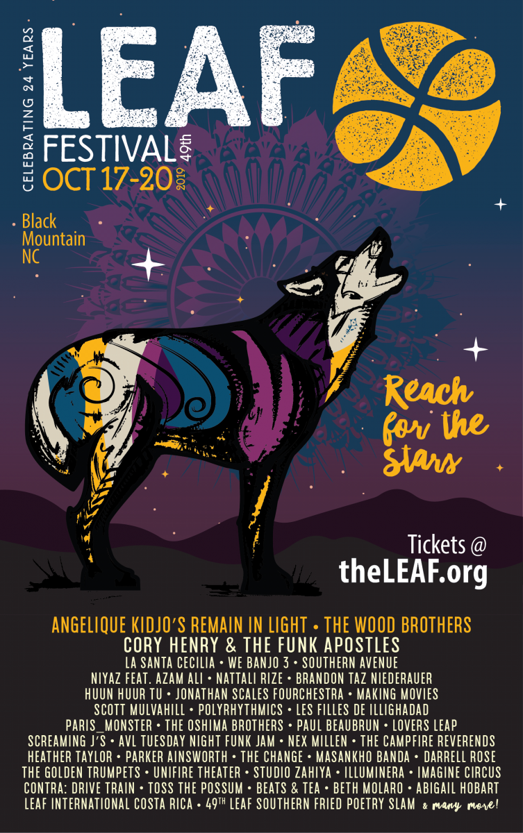 "LEAF Festival will ""Reach For The Stars"" this Fall 2019"