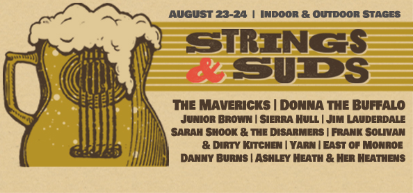 What's Up Weekly – Aug. 19-25 -Strings & Suds, Mason-Dixon Outlaw Music Festival, Whispering Beard Folk Fest & more!