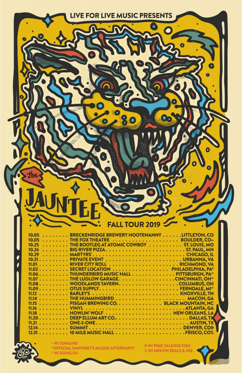 The Jauntee Announces Fall Tour 2019