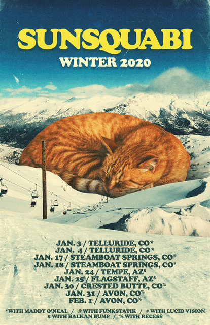 Sunsquabi Announces Winter Tour