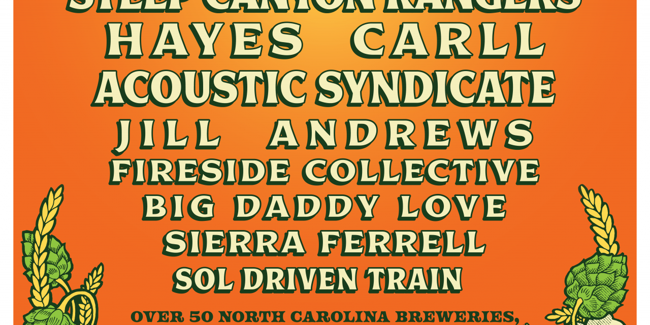 North Carolina Brewers and Music Festival Announces Lineup for its 10th Annual Event May 8-9, 2020