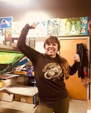 Fan Spotlight – Hanging with the Merch Girl – Corinne Henahan